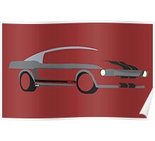 '67 Mustang Eleanor from Gone in 60 Seconds Poster