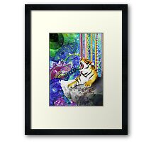 Tiger's Dream Framed Print