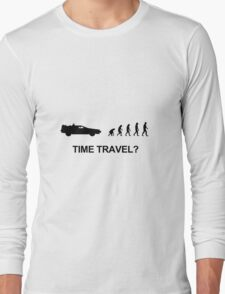 Evolution and time travel Long Sleeve T-Shirt