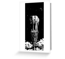 Ivory Tower Greeting Card