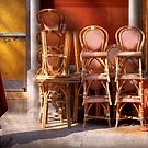 City - Chairs - RED by Mike  Savad