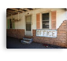 Route 66 Motel Canvas Print