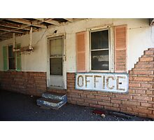 Route 66 Motel Photographic Print