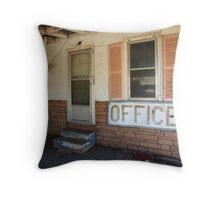 Route 66 Motel Throw Pillow