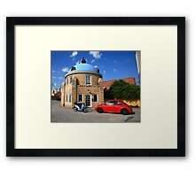Route 66 - Blue Dome of Tulsa Framed Print