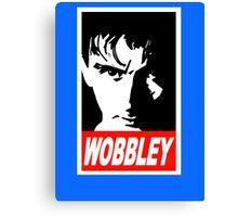 WOBBLEY Canvas Print