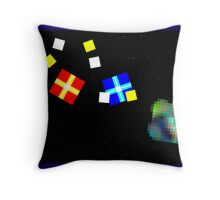 Comet - Colonists of the Spiral Nebula Throw Pillow