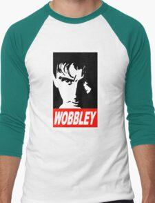 WOBBLEY Men's Baseball ¾ T-Shirt