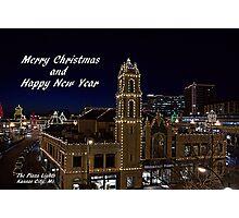 Kansas City Plaza Lights Photographic Print