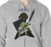 The Legend of Zelda  Zipped Hoodie