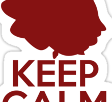 Keep Calm and Make a Wish (Snow White, Snow White and the Seven Dwarfs) Sticker