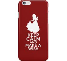 Keep Calm and Make a Wish (Snow White, Snow White and the Seven Dwarfs) iPhone Case/Skin