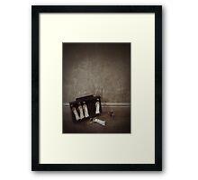 The Black Day Dolls Framed Print
