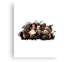 Borderlands Team Canvas Print