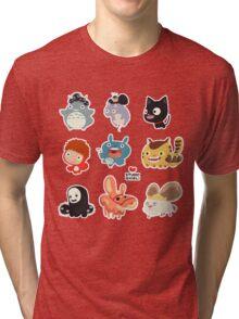 Studio Ghibli Friends Tri-blend T-Shirt