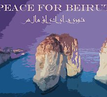 Peace for Beirut by leminva