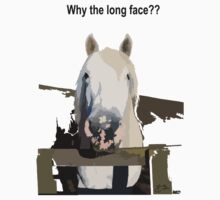 Why the Long Face??? by Huron