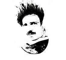 Postmodern Tesla Black Photographic Print