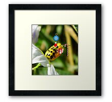 The Santa Ladybug Framed Print