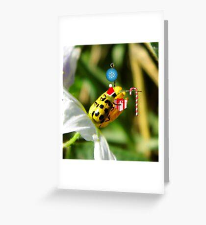 The Santa Ladybug Greeting Card