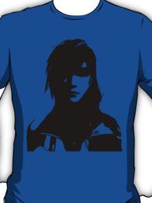 FFXIII - Lightning Silhouette Black T-Shirt