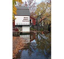Bucks County Playhouse Photographic Print