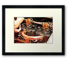 Valves and Springs Framed Print
