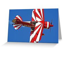 The Pitts Special - Shoreham 2013 Greeting Card