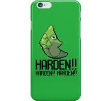 Harden forever iPhone Case/Skin