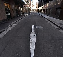Wilmot Street Arrow, Sydney, Australia 2013 by muz2142