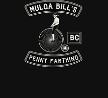 Mulga Bill - Penny Farthing Bicycle Club Patch Tshirt Unisex T-Shirt
