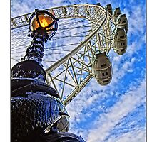 London Eye by Tim Constable by Tim Constable