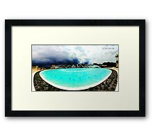 Frank Lloyd Wright Water Dome Framed Print