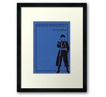 Roy Mustang Framed Print