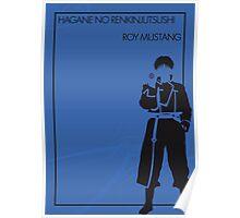 Roy Mustang Poster
