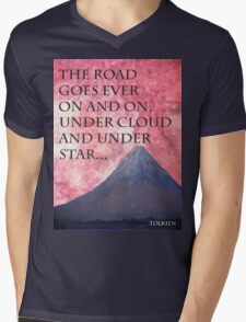 The Road Mens V-Neck T-Shirt