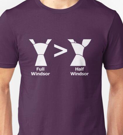 Full Windsor > Half Windsor Unisex T-Shirt