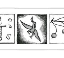 Minimalistic: The Amber Spyglass Sticker