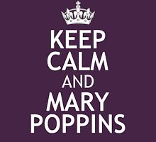 KEEP CALM AND MARY POPPINS Womens Fitted T-Shirt