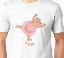 Piper Ballet Bear Unisex T-Shirt