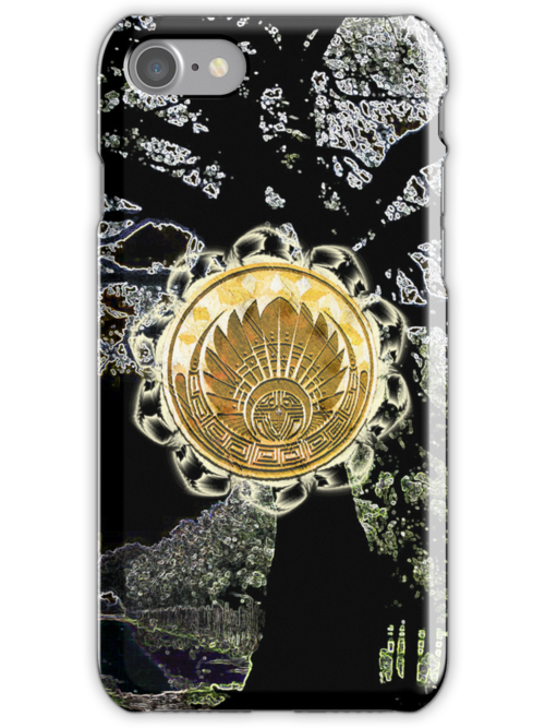 Ace of Disks Phone Case by AngelTripStudio