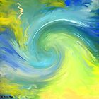The wave-Abstract 49 wall art + IPhone Cases + iPad Cases by haya1812