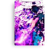 wild Purple Canvas Print