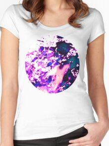 wild Purple Women's Fitted Scoop T-Shirt