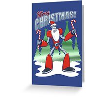 RoboSanta 2000 Greeting Card