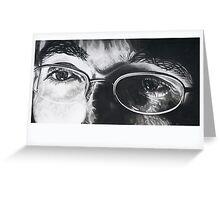 Looking: Self Portrait Greeting Card