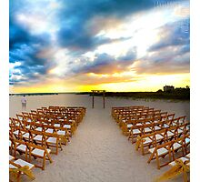 Tropical Matrimony Photographic Print