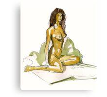 Sinew Canvas Print