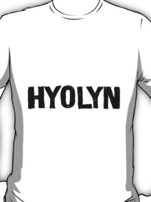 Hyolyn Love & Hate 4 T-Shirt
