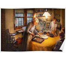 Chef - Kitchen - Home for the holidays Poster